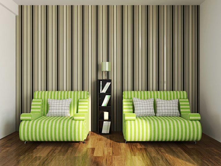 Form und Farbe entscheiden, wie ein Sofa sich ins Interieur einfügt. (Bild: © astragal - fotolia.com)
