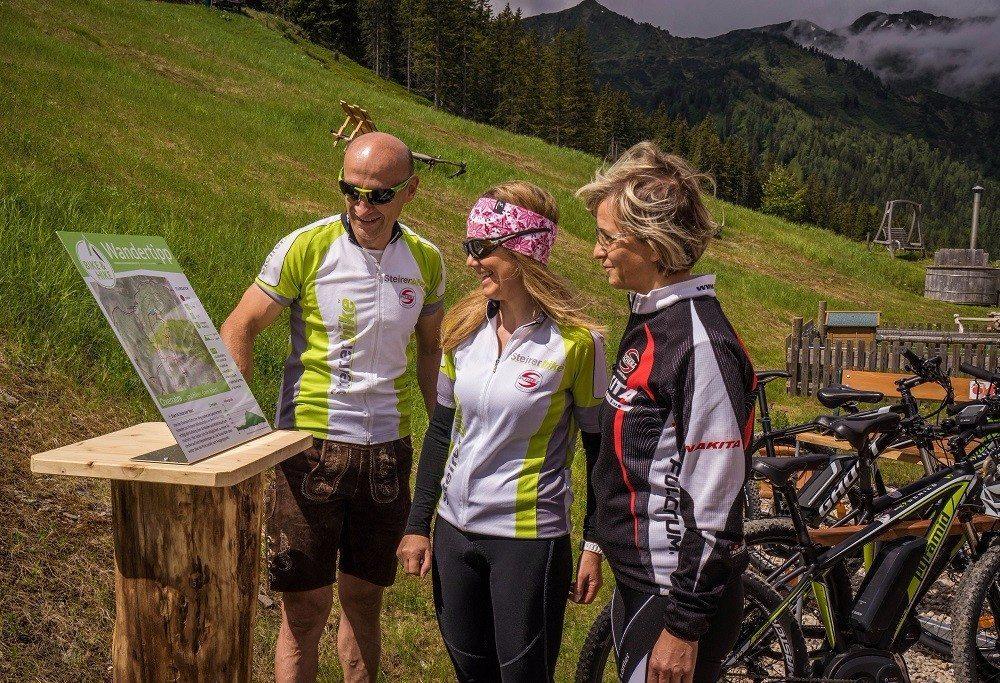 Alle beschilderten Bike&Hike-Touren sind für Familien und Kinder bestens geeignet.