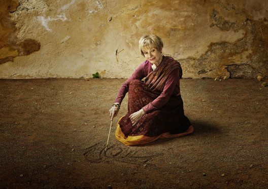 Prominente Frauen werben mit eindrücklichen Fotos für Mädchenförderung in der 3. Welt. (Bild: © simon+kim werbefotografie.ch)