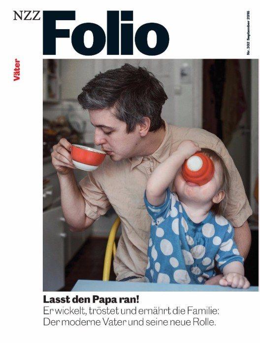 """""""NZZ Folio"""" erscheint zum 25jährigen Jubiläum in neuem Design und neuer Aufmachung. (Bild: © NZZ)"""