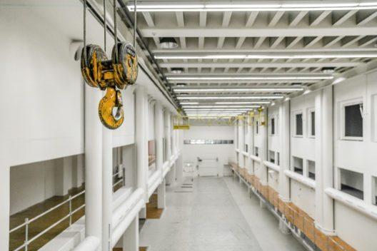 Alte Druckereihalle - Blick von der Galerie