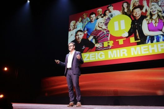 Carlos Zamorano praesentierte das Programm von RTL II (Bild: © screen-up)