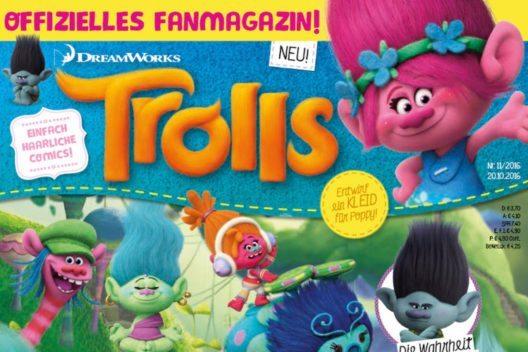 feature post image for Jetzt neu – passend zum Kinostart: Trolls – Das offizielle Fanmagazin