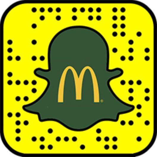 Snapchat-Filter zum CBO-Comeback bei McDonald's