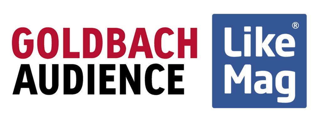 Logos von Goldbach Audience und LikeMag (Bild: Goldbach Group AG)